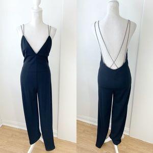 Modal International Backless Jumpsuit Size S {ST}